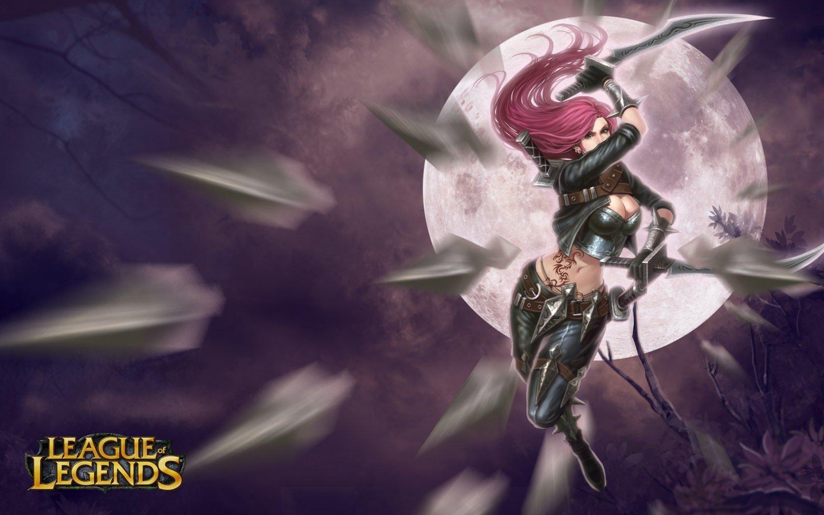 Katarina League Of Legends Wallpapers 1680x1050 Desktop Backgrounds