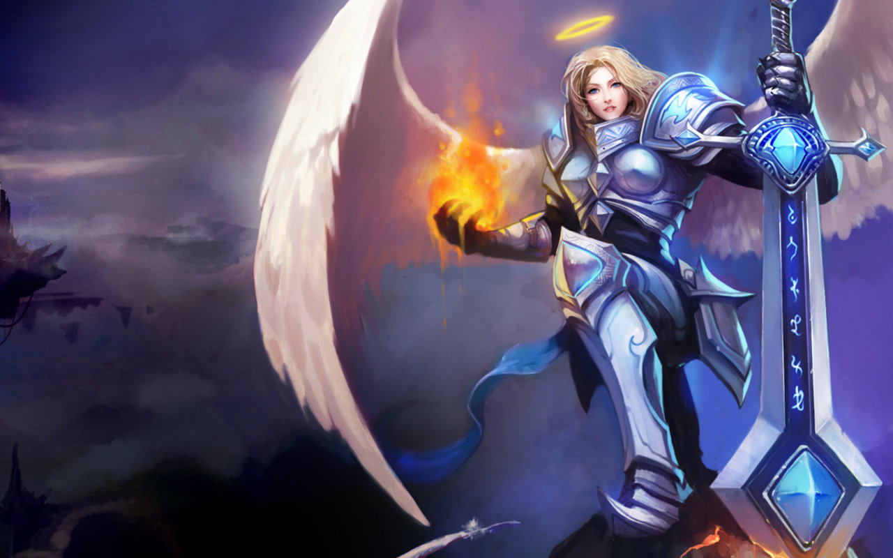 And Kayle Wallpaper Kayle League Of Legends Wallpapers Hd For