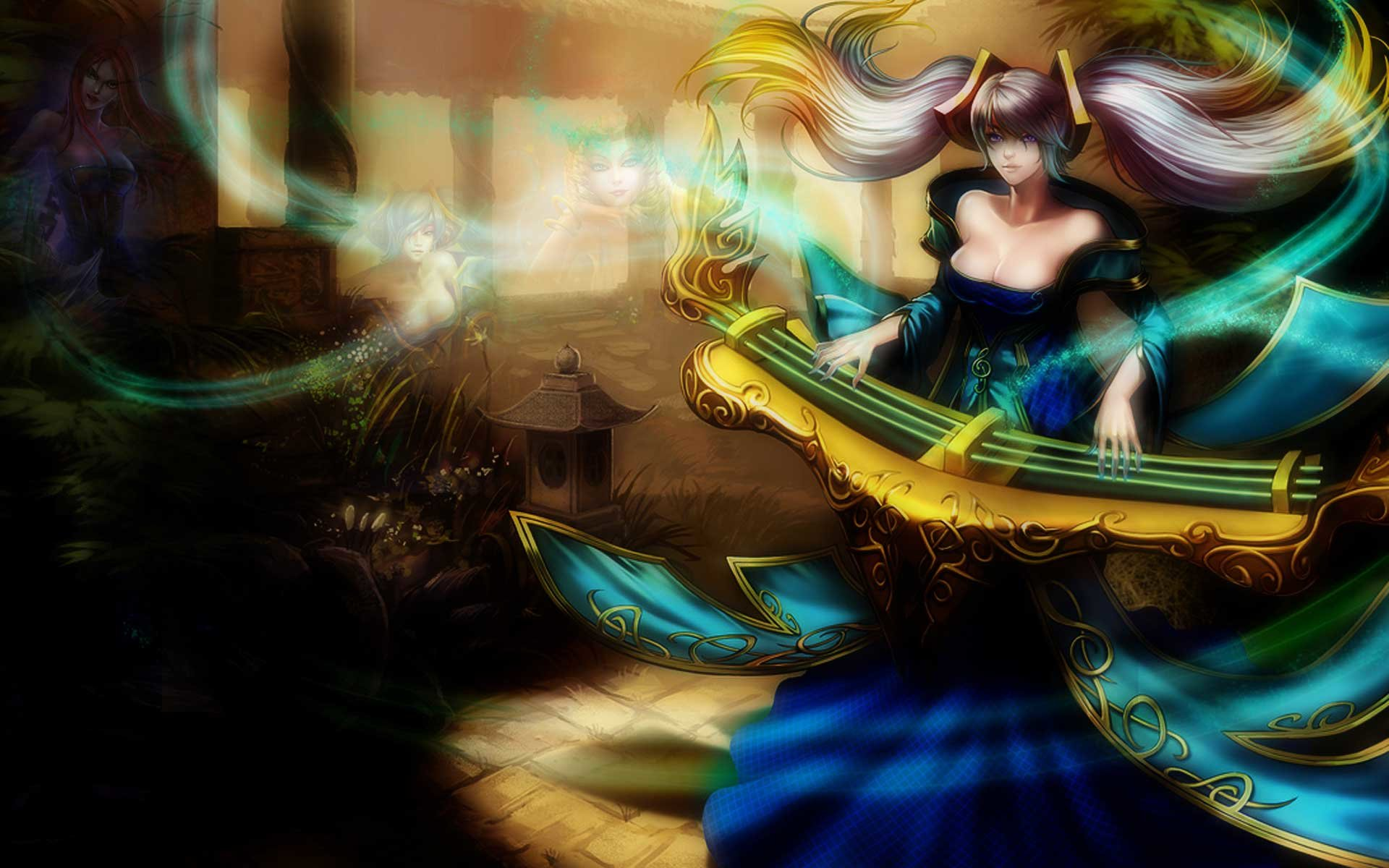 Dual Monitor Wallpaper League Of Legends: Sona (League Of Legends) Wallpapers HD For Desktop Backgrounds