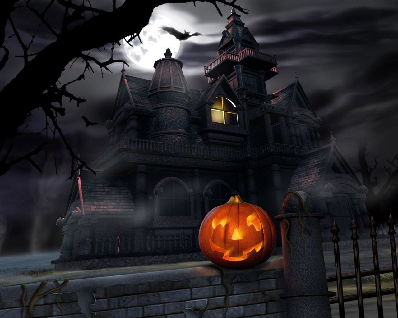 High resolution Halloween hd 1280x1024 background ID:402404 for computer