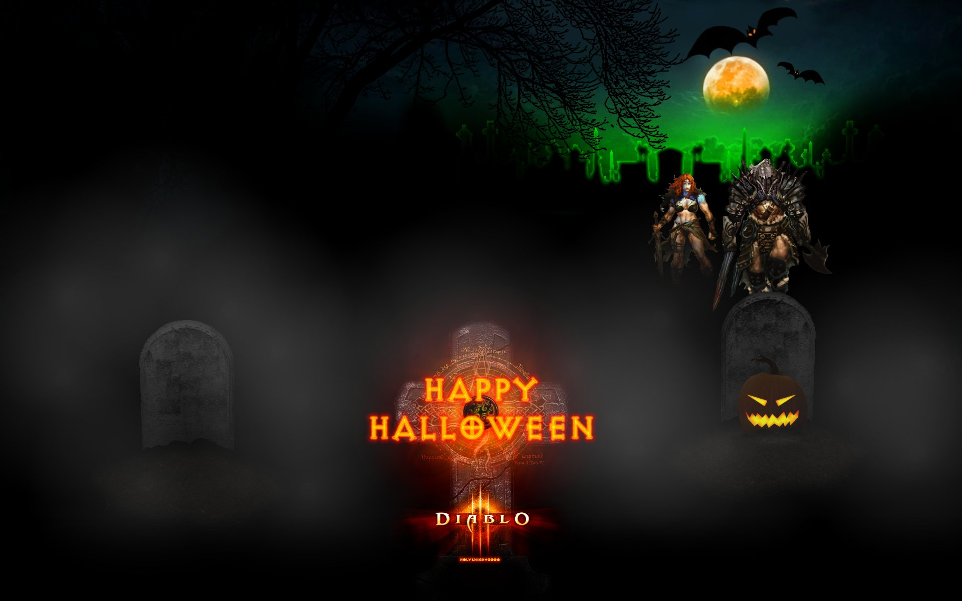 Download hd 1920x1200 Halloween PC wallpaper ID:402004 for free
