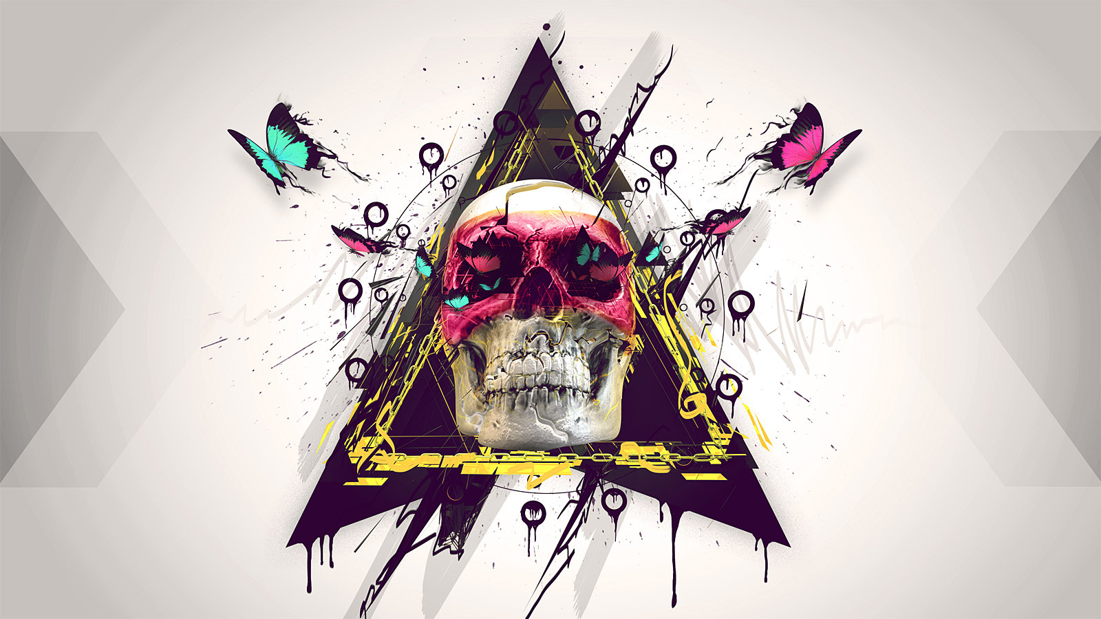Free Skull high quality wallpaper ID:320699 for hd 1600x900 desktop