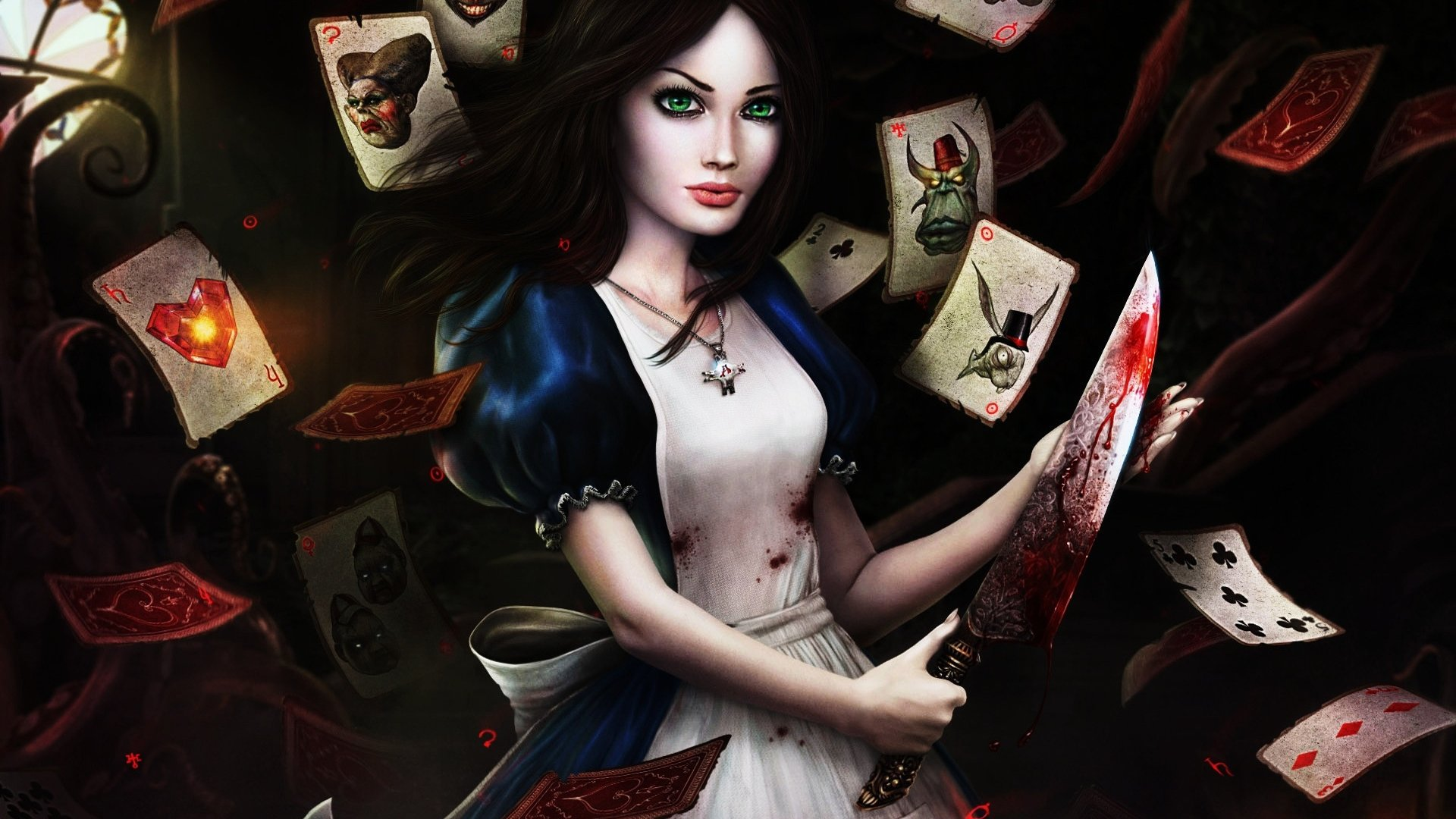 Best Alice: Madness Returns wallpaper ID:27653 for High Resolution 1080p computer