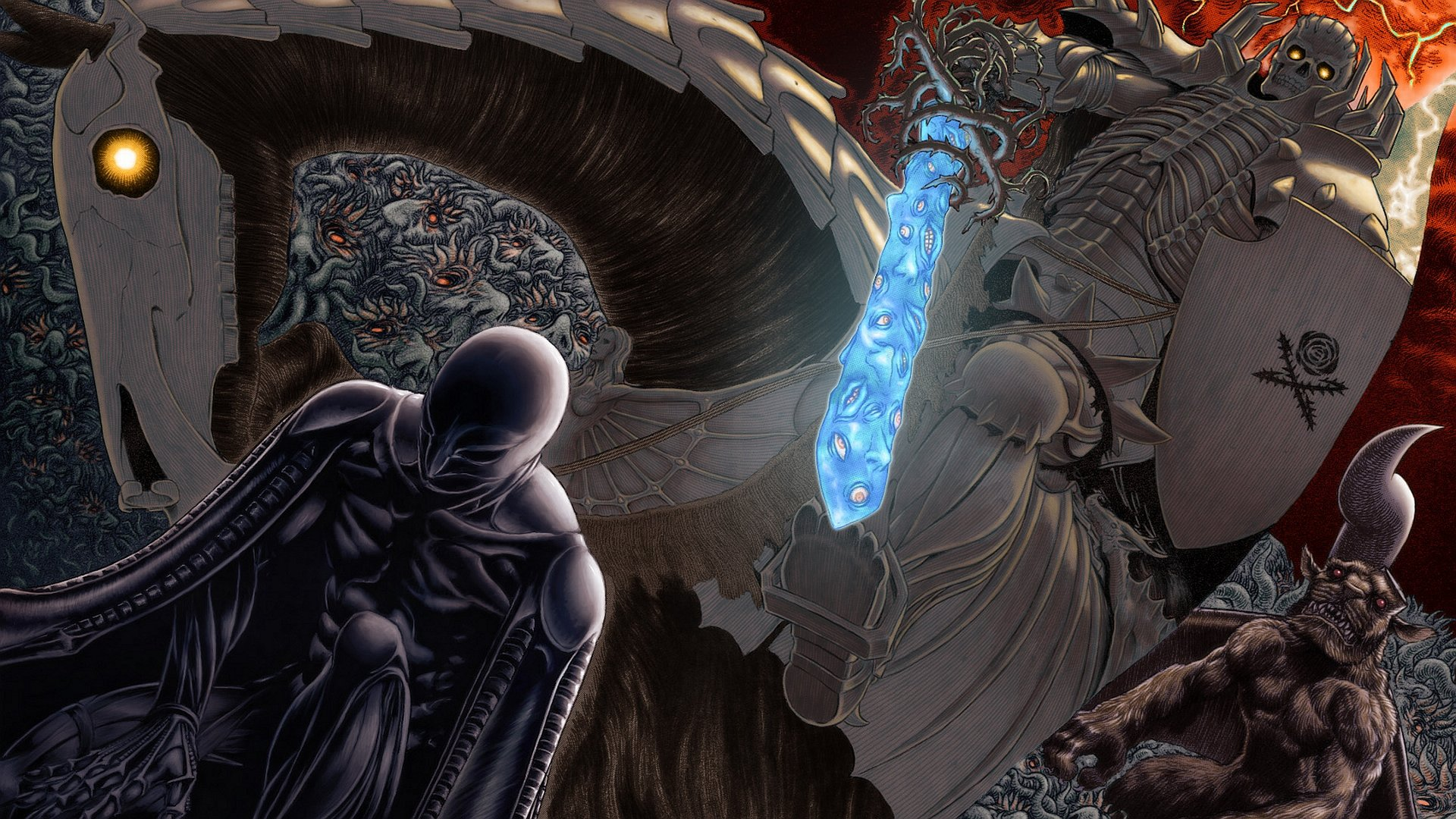 Awesome Berserk free background ID:67707 for full hd PC