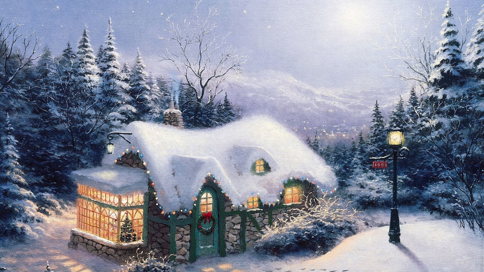 High Resolution Christmas Full Hd Wallpaper Id435804 For Pc
