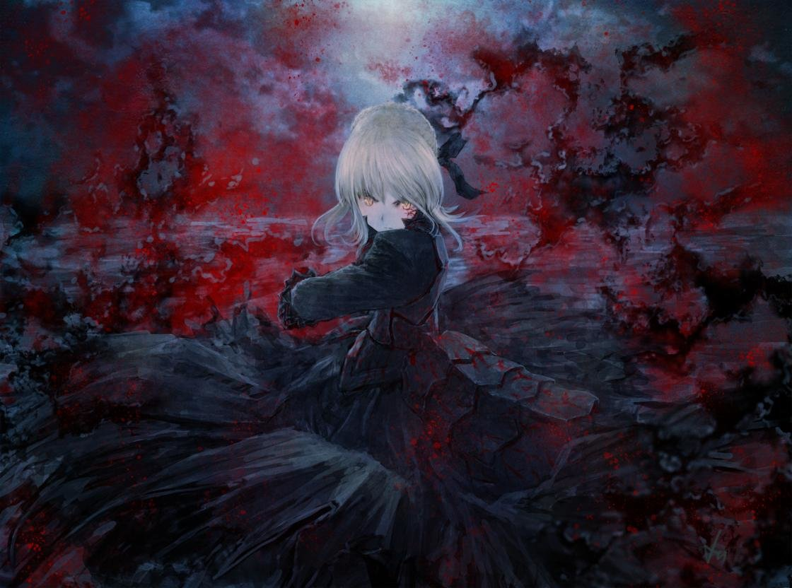 Best Saber Alter wallpaper ID:469093 for High Resolution hd 1120x832 PC