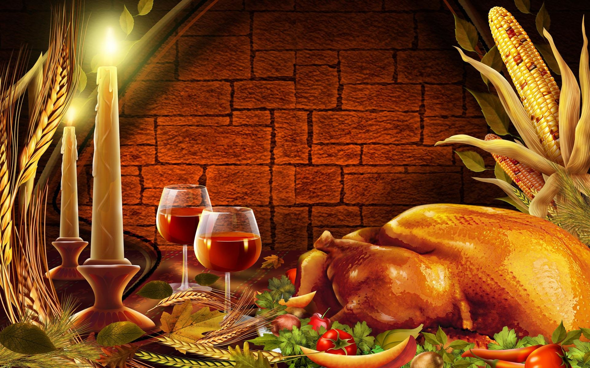 Download hd 1920x1200 Thanksgiving PC background ID:144690 for free