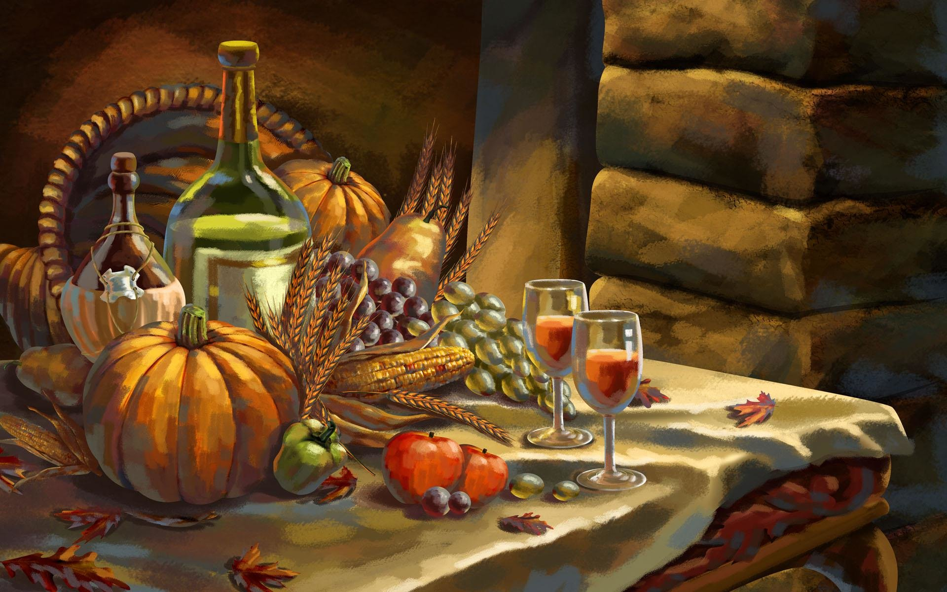 Best Thanksgiving wallpaper ID:144671 for High Resolution hd 1920x1200 PC