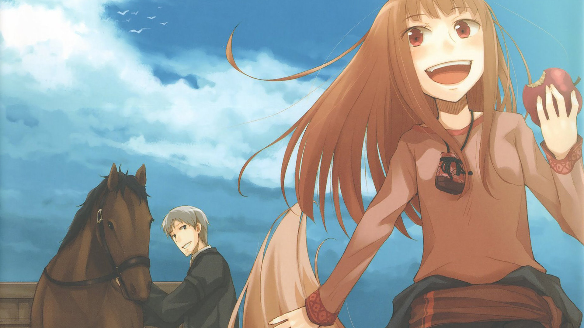 The Best Spice And Wolf Wallpaper Hd Gif