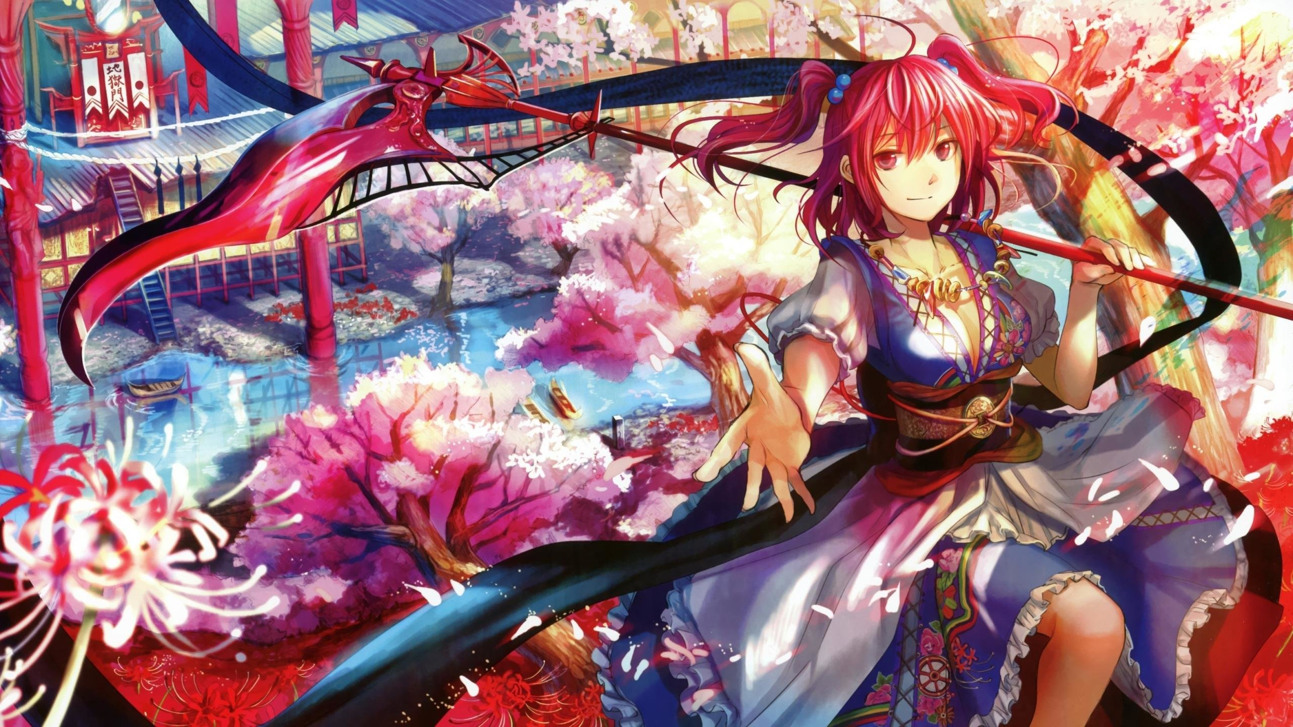 Best Touhou background ID:220379 for High Resolution hd 2560x1440 PC