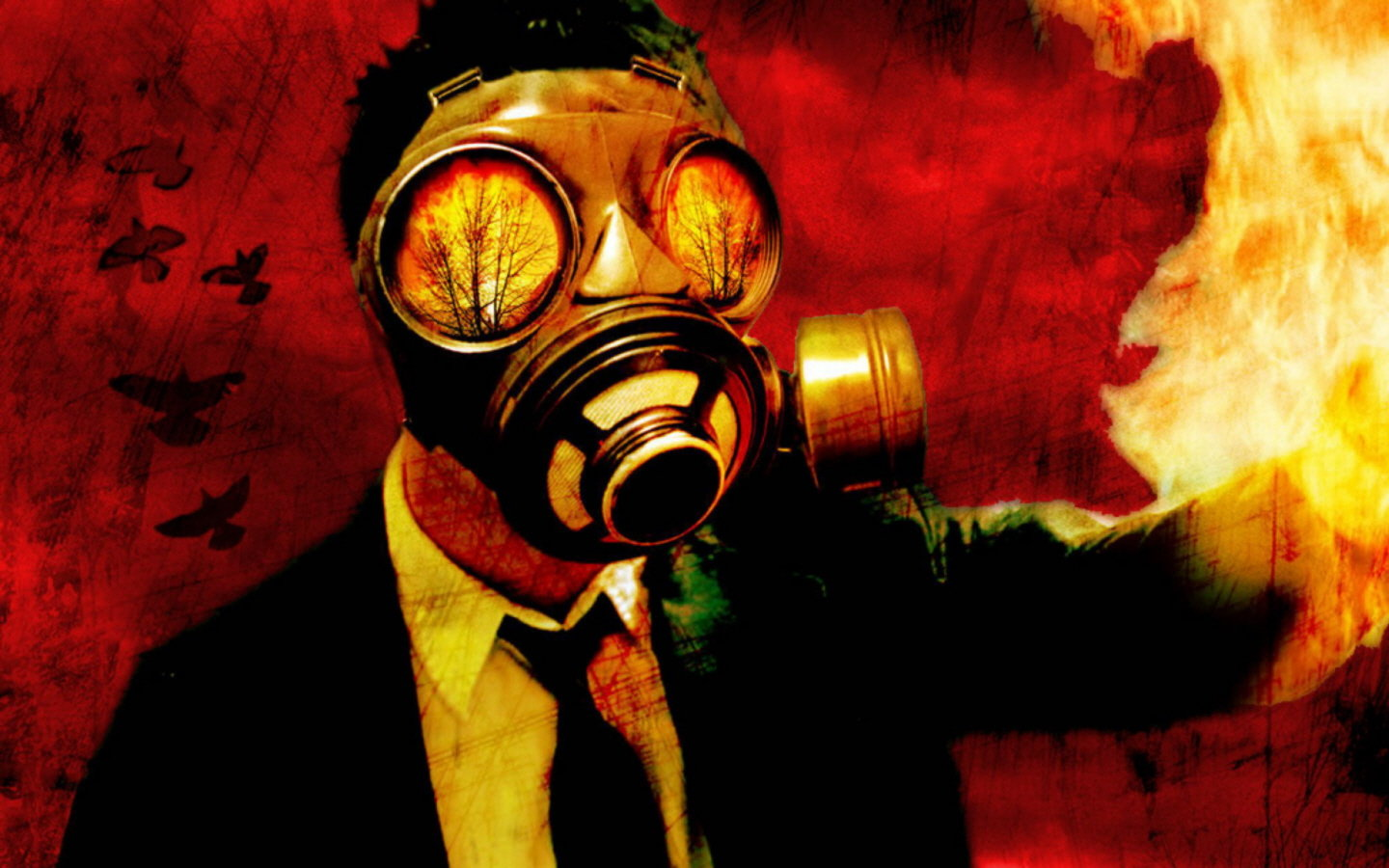 Free Download Gas Mask Wallpaper Id161504 Hd 1440x900 For