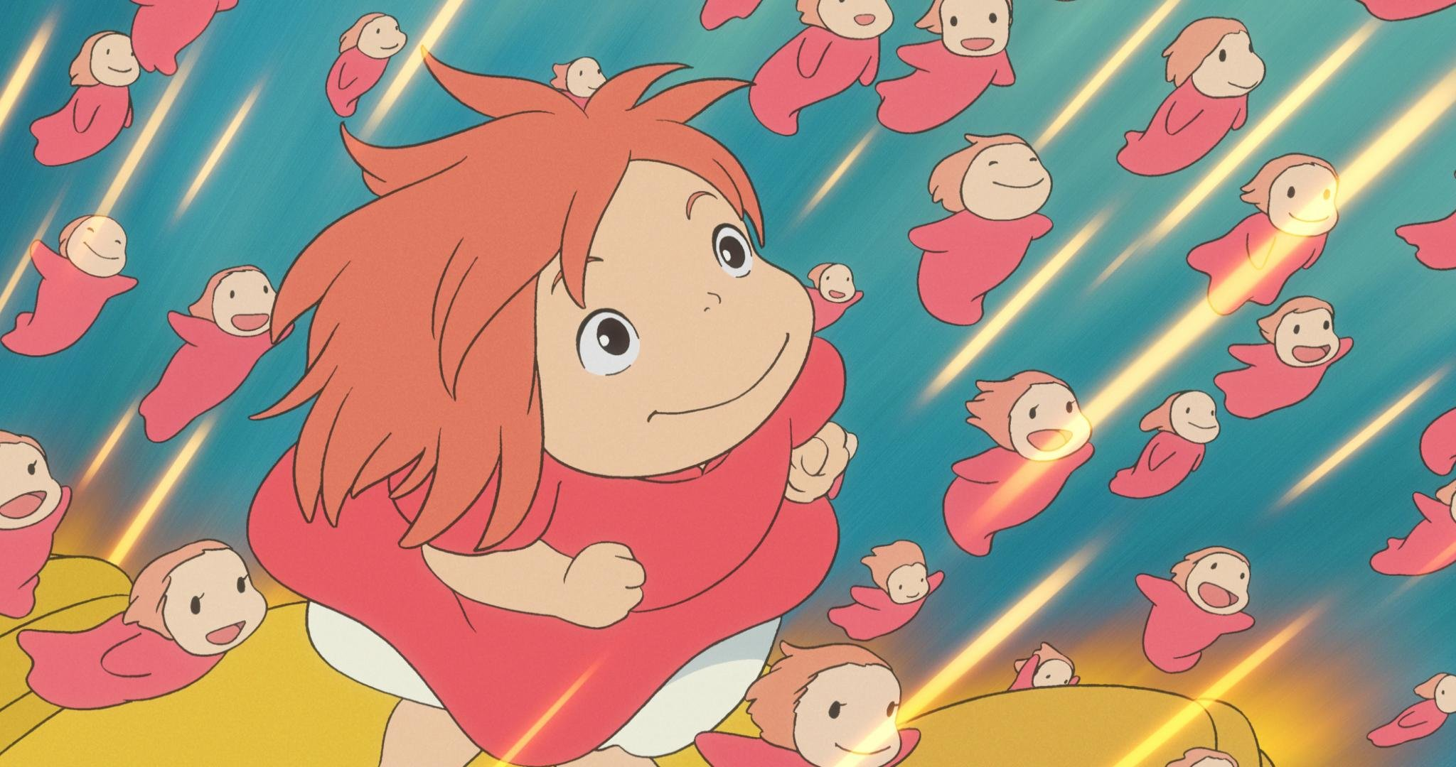 Ponyo Wallpapers Hd For Desktop Backgrounds