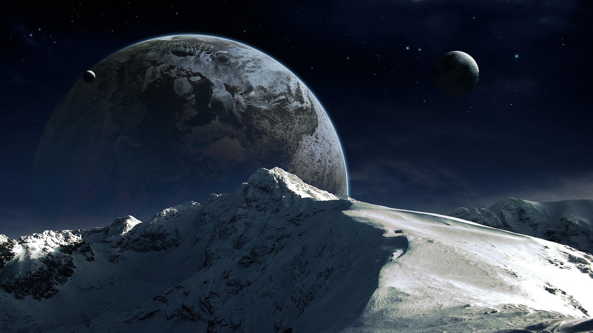 High Resolution Sci Fi Landscape Hd 1080p Wallpaper ID233050 For Desktop