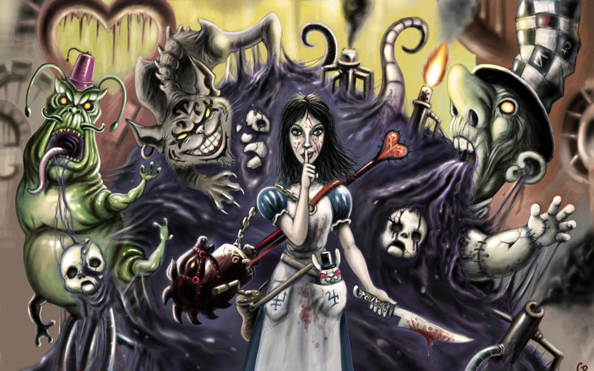 Awesome Alice: Madness Returns free background ID:27680 for hd 1920x1200 PC