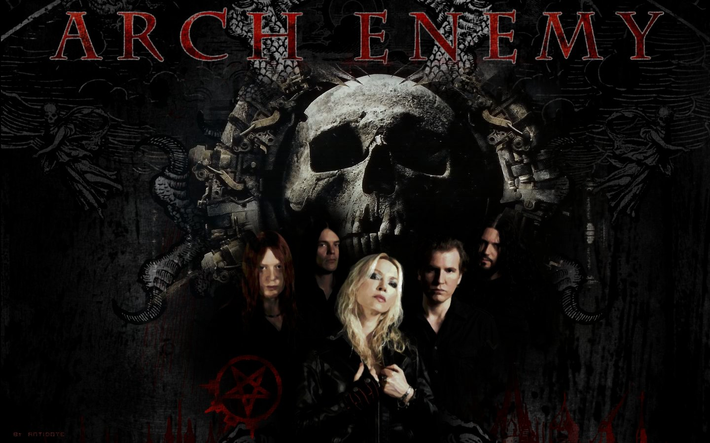 Download hd 1440x900 Arch Enemy desktop wallpaper ID:347734 for free