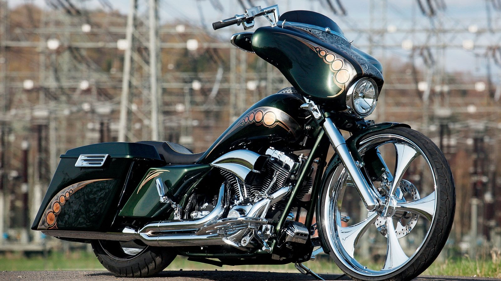 Free download Harley Davidson background ID:478286 hd 1600x900 for desktop