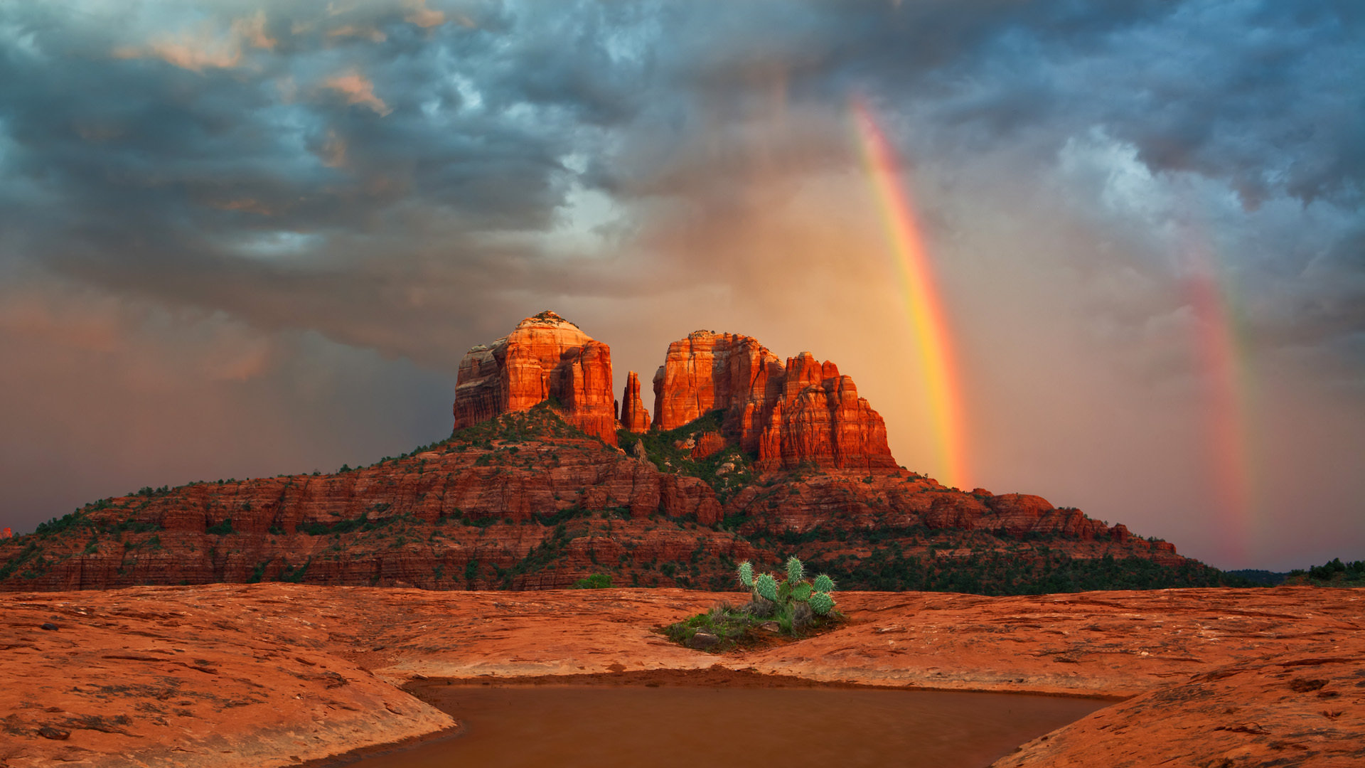 Best Rainbow background ID:402935 for High Resolution 1080p desktop