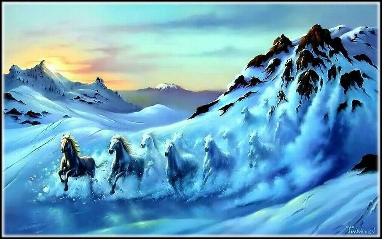 Horse fantasy wallpapers 1280x800 desktop backgrounds high resolution horse fantasy hd 1280x800 wallpaper id282537 for desktop voltagebd Choice Image
