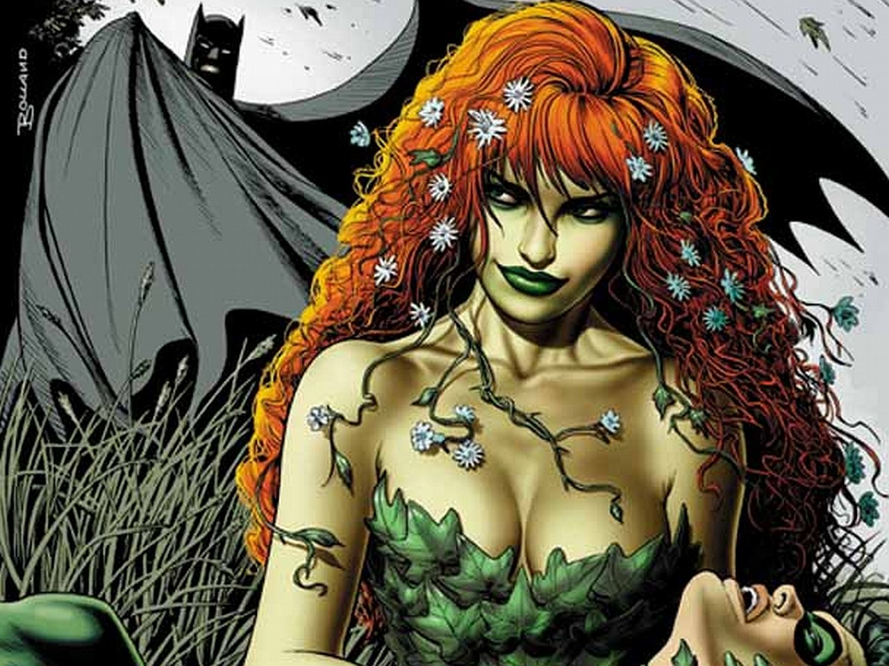 Best Poison Ivy wallpaper ID:430635 for High Resolution hd 1280x960 PC