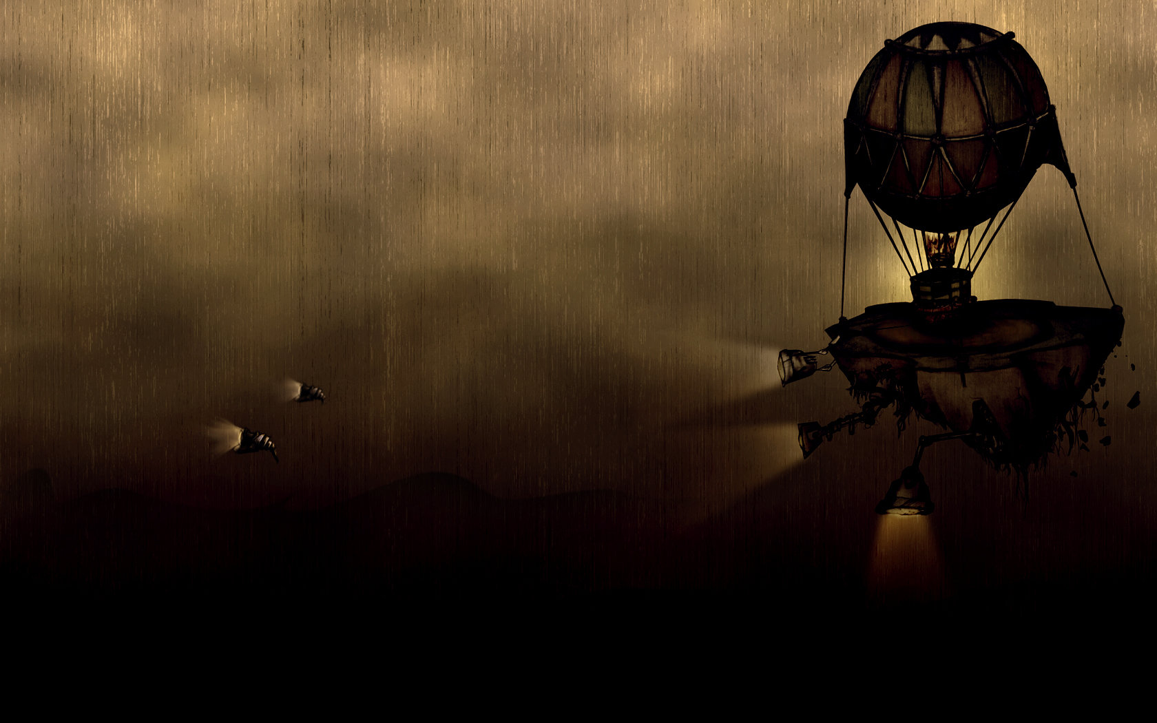 Free download Steampunk background ID:10578 hd 1680x1050 for PC