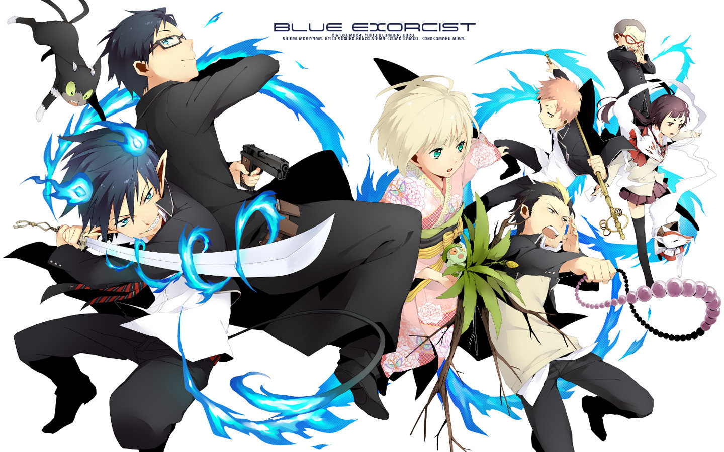 Blue Exorcist Ao No Wallpapers Hd For Desktop Backgrounds