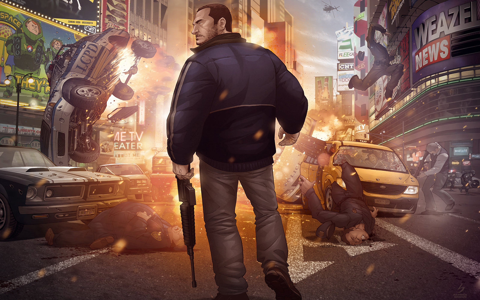 Free Grand Theft Auto Iv Gta  High Quality Background Id For Hd X Desktop