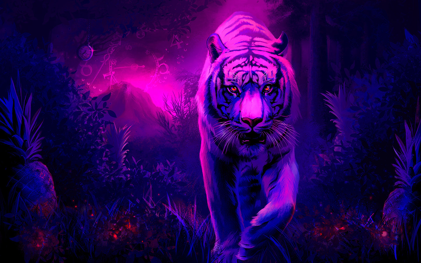 High resolution Tiger hd 1440x900 wallpaper ID:115600 for PC