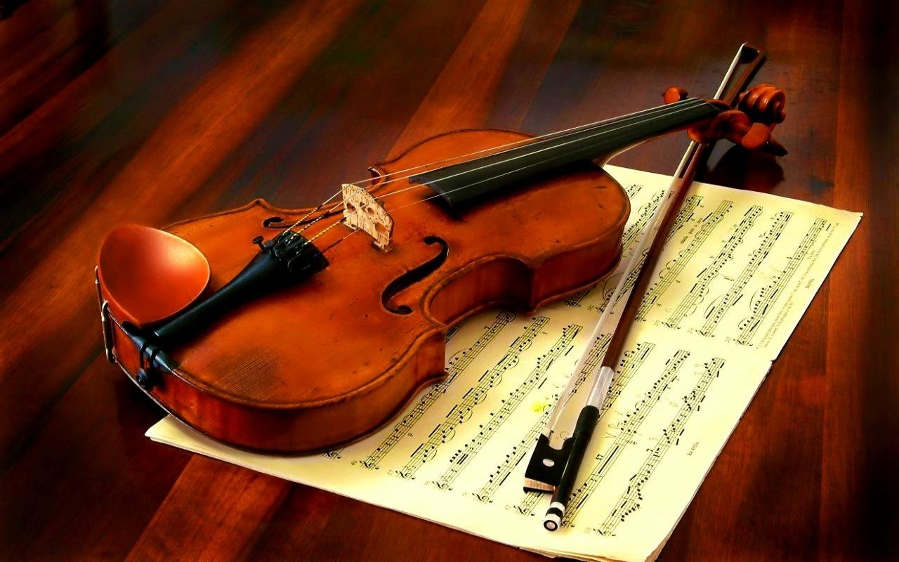 Awesome Violin free wallpaper ID:53524 for hd 1280x800 computer