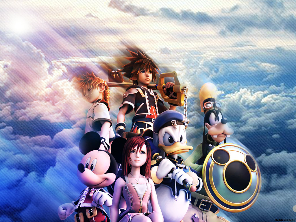 Kingdom Hearts Wallpapers Hd For Desktop Backgrounds
