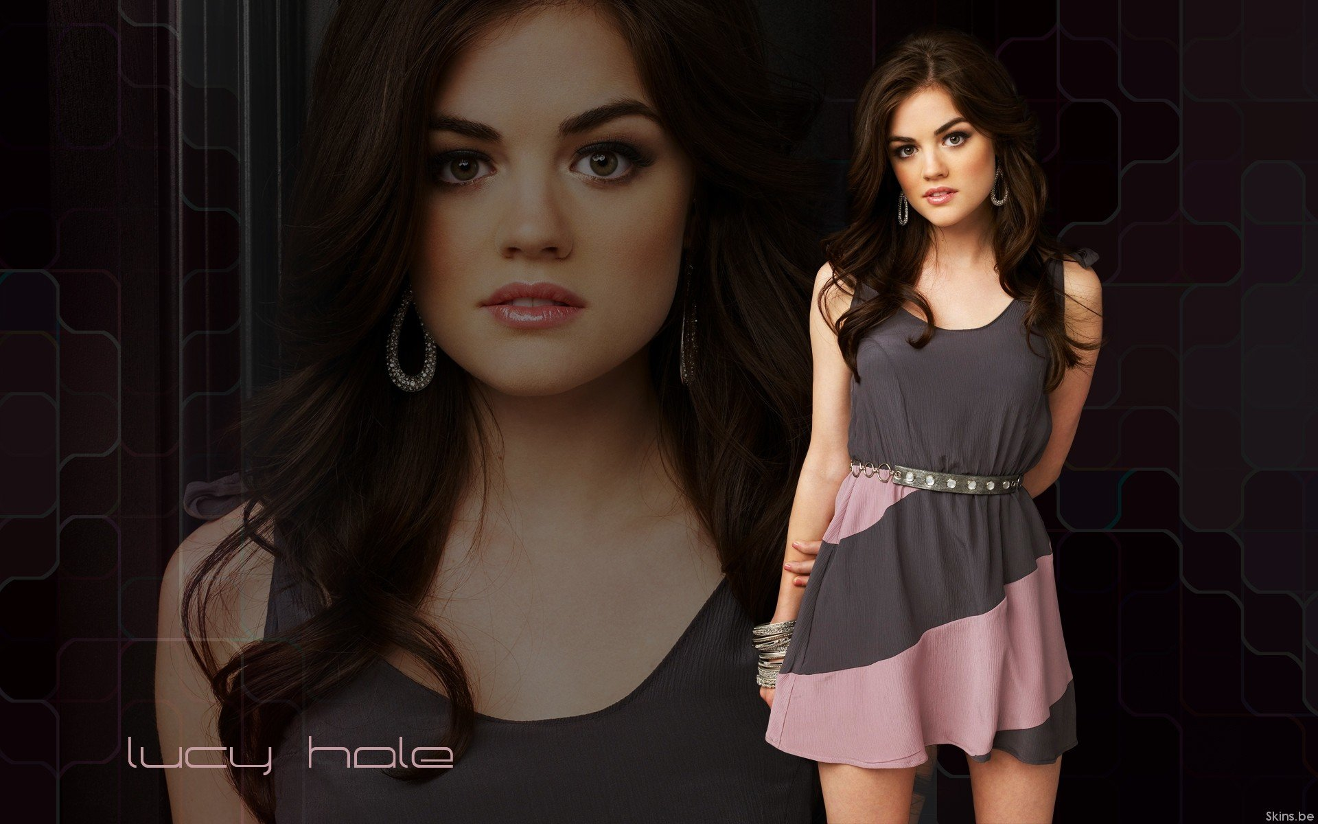 Download hd 1920x1200 Lucy Hale PC background ID:270593 for free