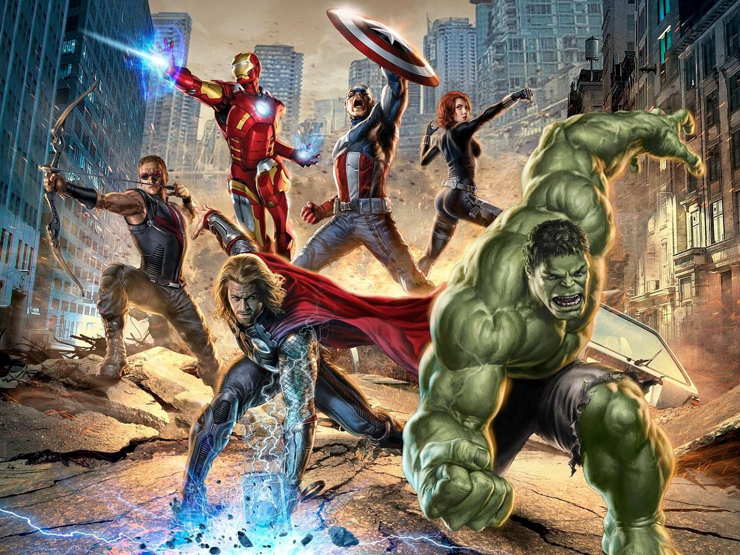 Download hd 1440x1080 Avengers comics PC wallpaper ID:334480 for free