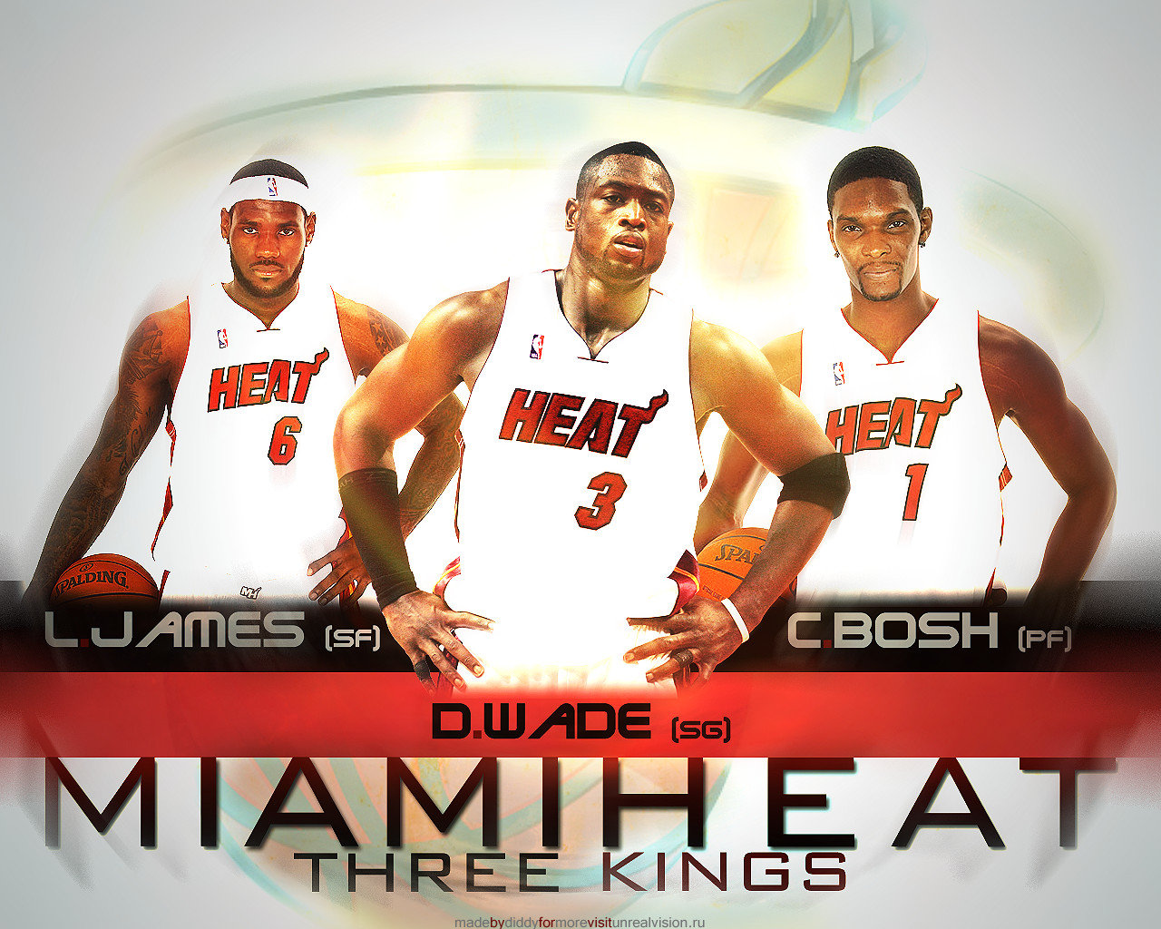 Download hd 1280x1024 Miami Heat computer background ID:189034 for free