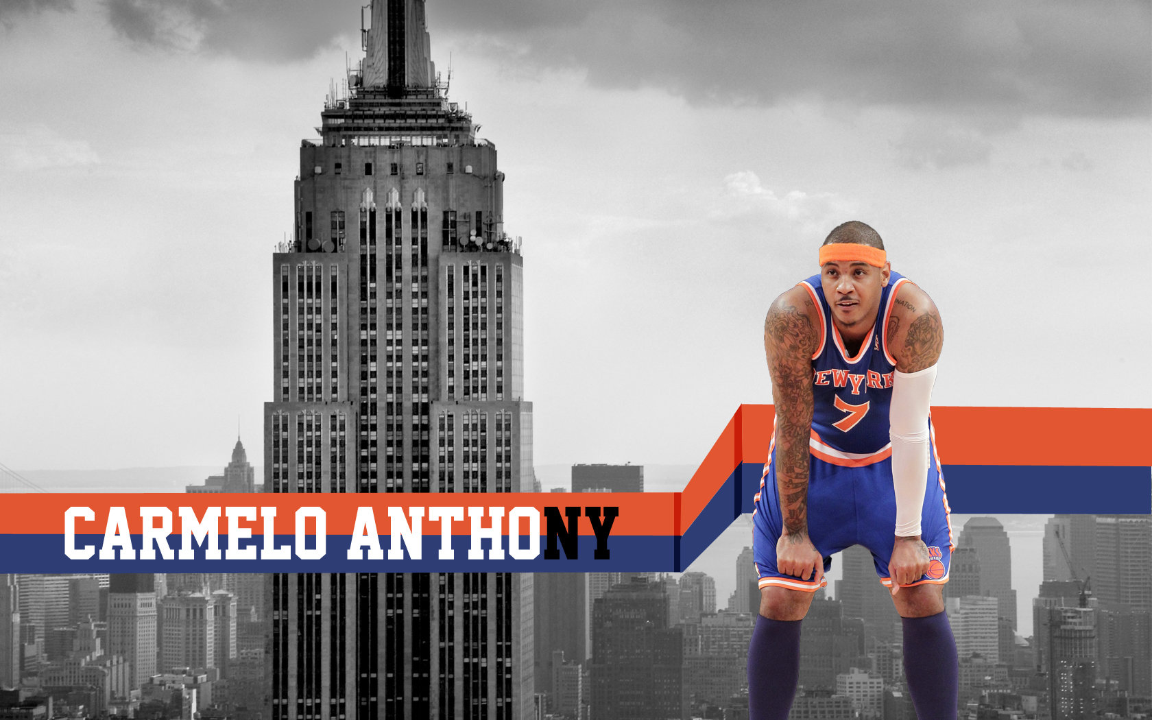 Download hd 1680x1050 New York Knicks desktop background ID:295016 for free