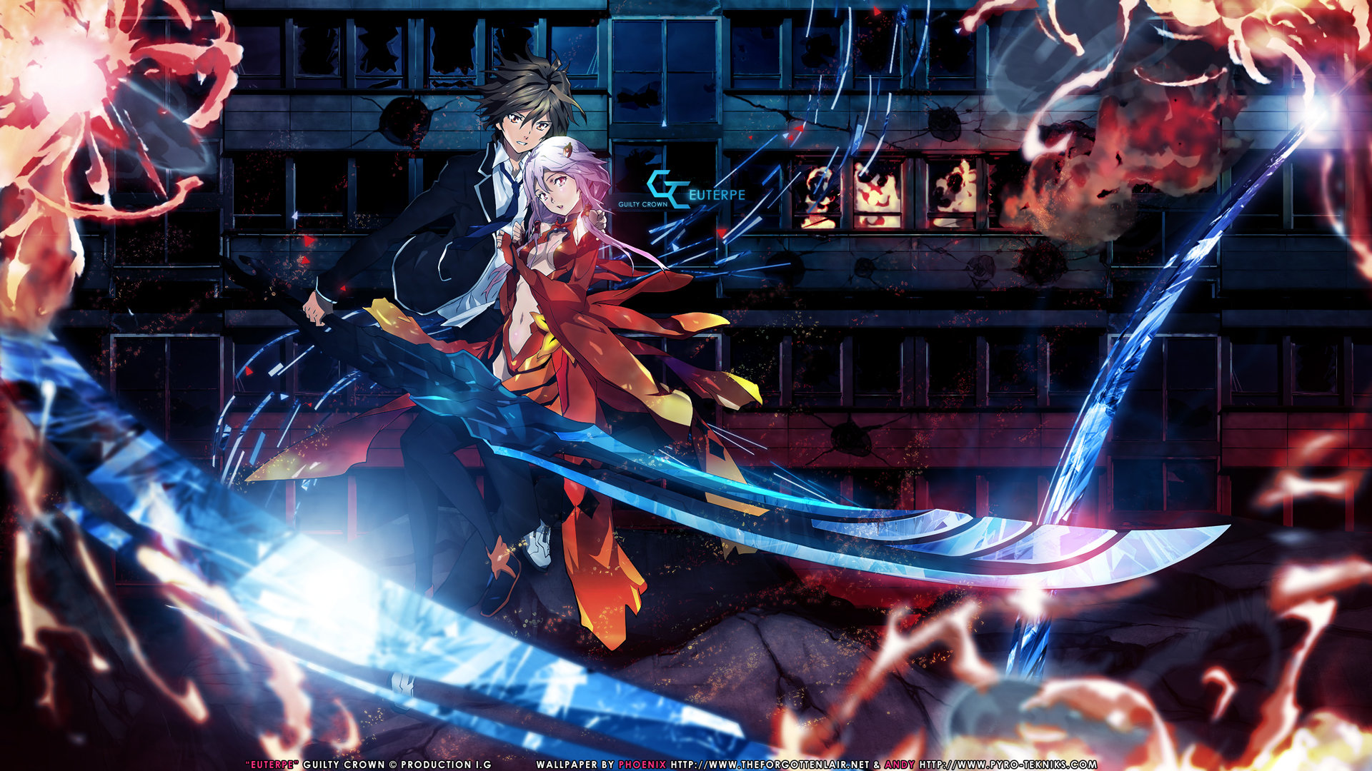Free download Guilty Crown background ID:254390 full hd 1920x1080 for desktop
