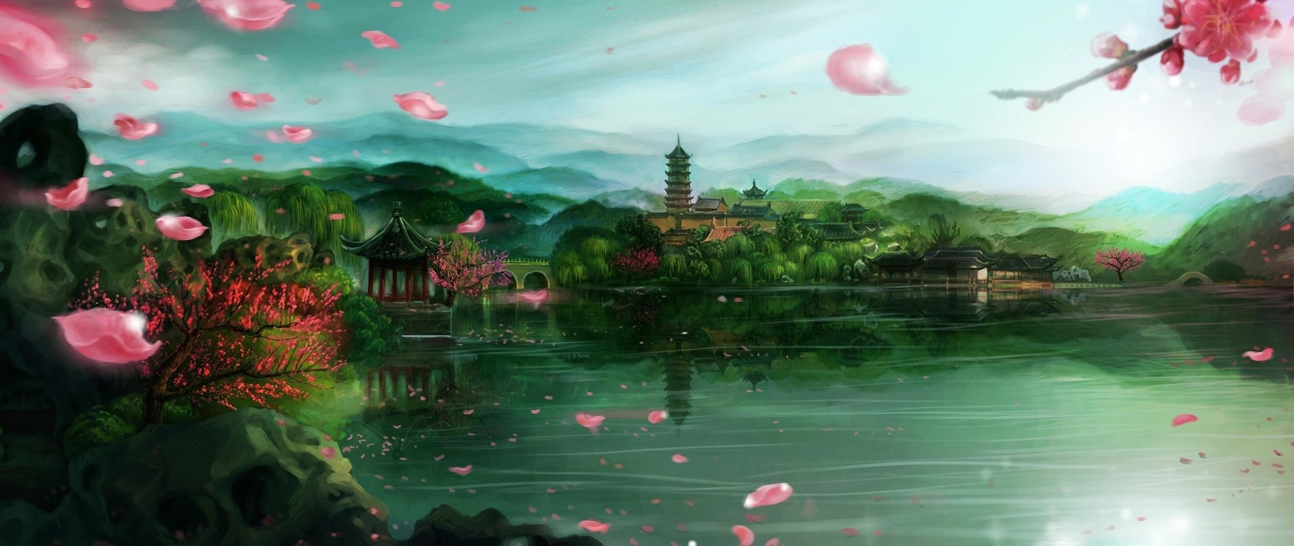 Awesome Oriental free wallpaper ID:128151 for hd 2560x1080 desktop