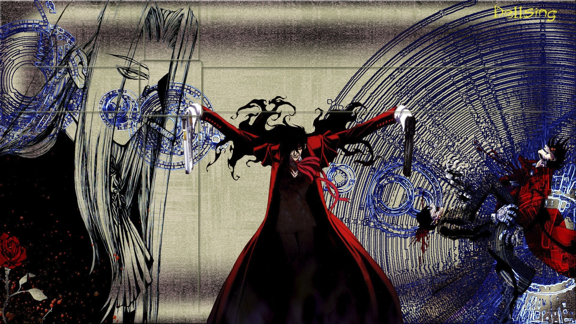 Download full hd 1920x1080 Hellsing desktop background ID:330063 for free