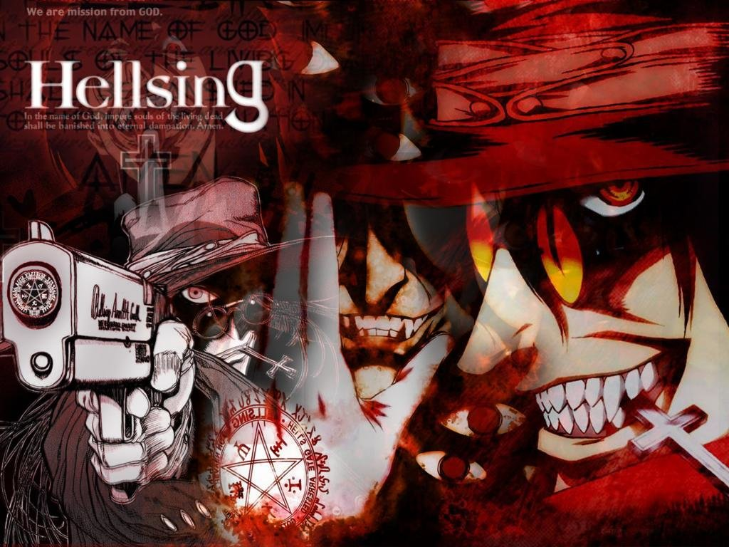 Free download Hellsing background ID:329625 hd 1024x768 for desktop