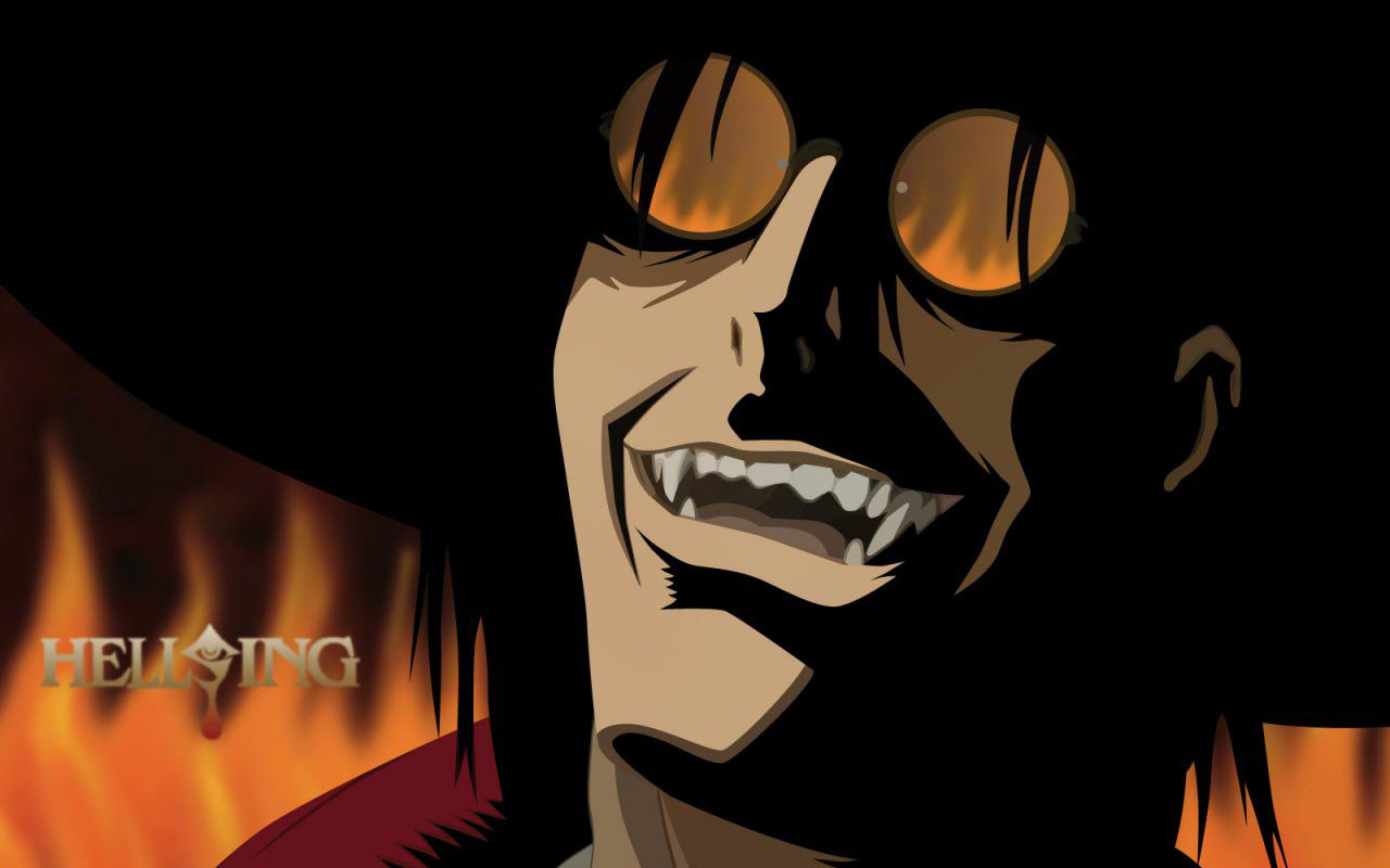 Download hd 1280x800 Hellsing computer background ID:329534 for free