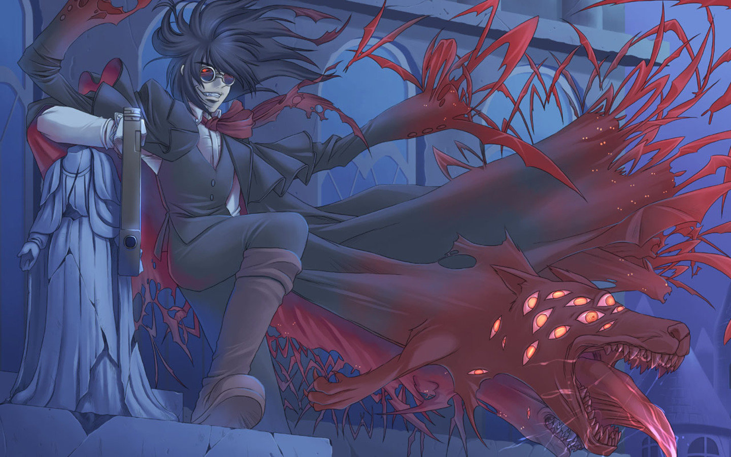 Free download Hellsing background ID:329582 hd 1440x900 for PC