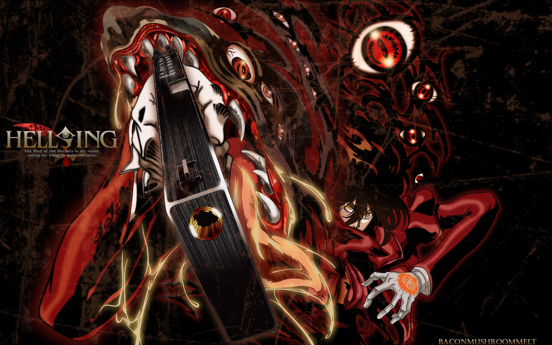 Free Hellsing high quality background ID:330054 for hd 1920x1200 desktop