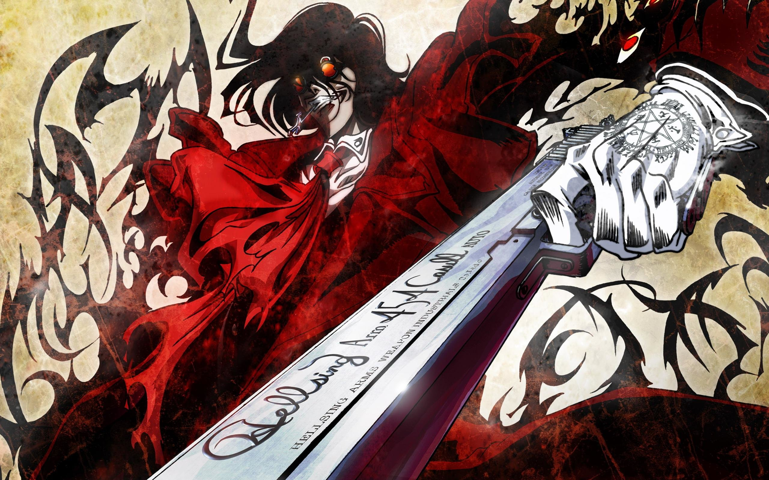 High resolution Hellsing hd 2560x1600 wallpaper ID:329627 for PC