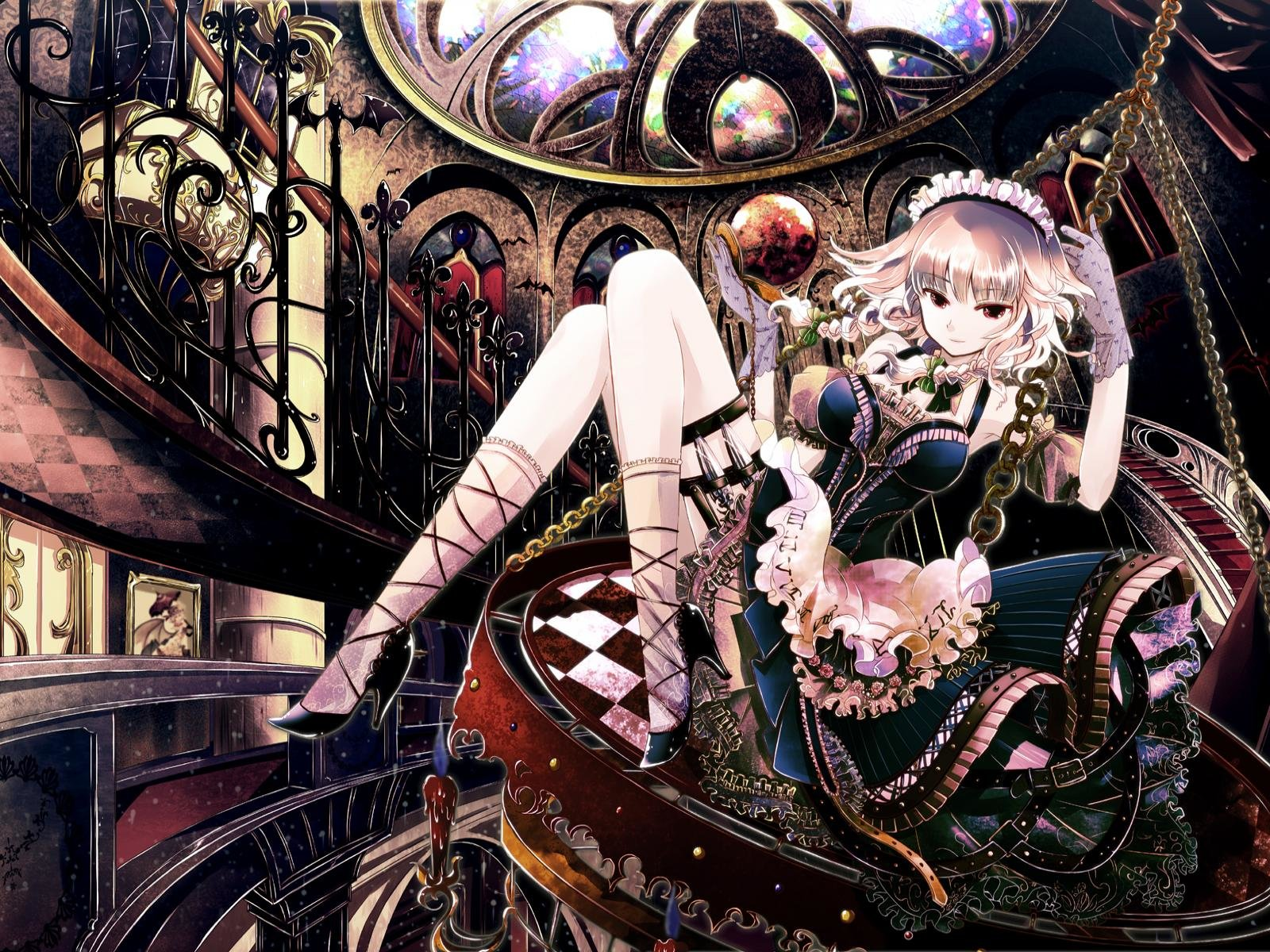 Download hd 1600x1200 Touhou PC background ID:219763 for free