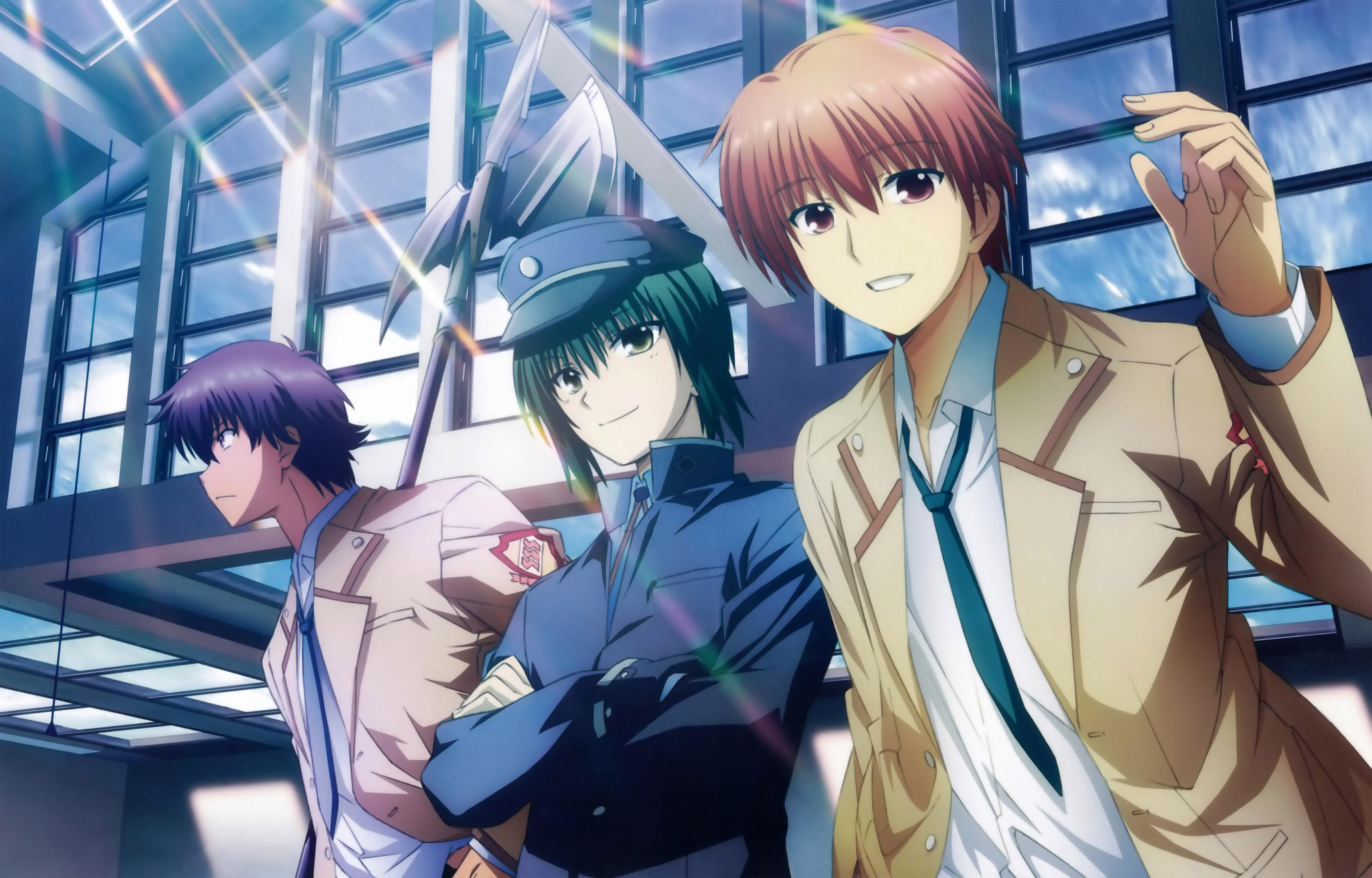 Free download Angel Beats! background ID:235225 hd 3200x2048 for PC