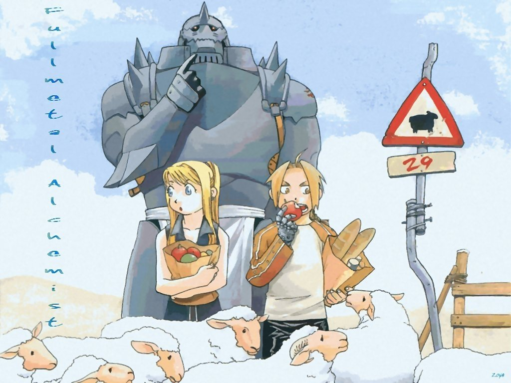 Download hd 1024x768 FullMetal Alchemist (FMA) PC background ID:310523 for free