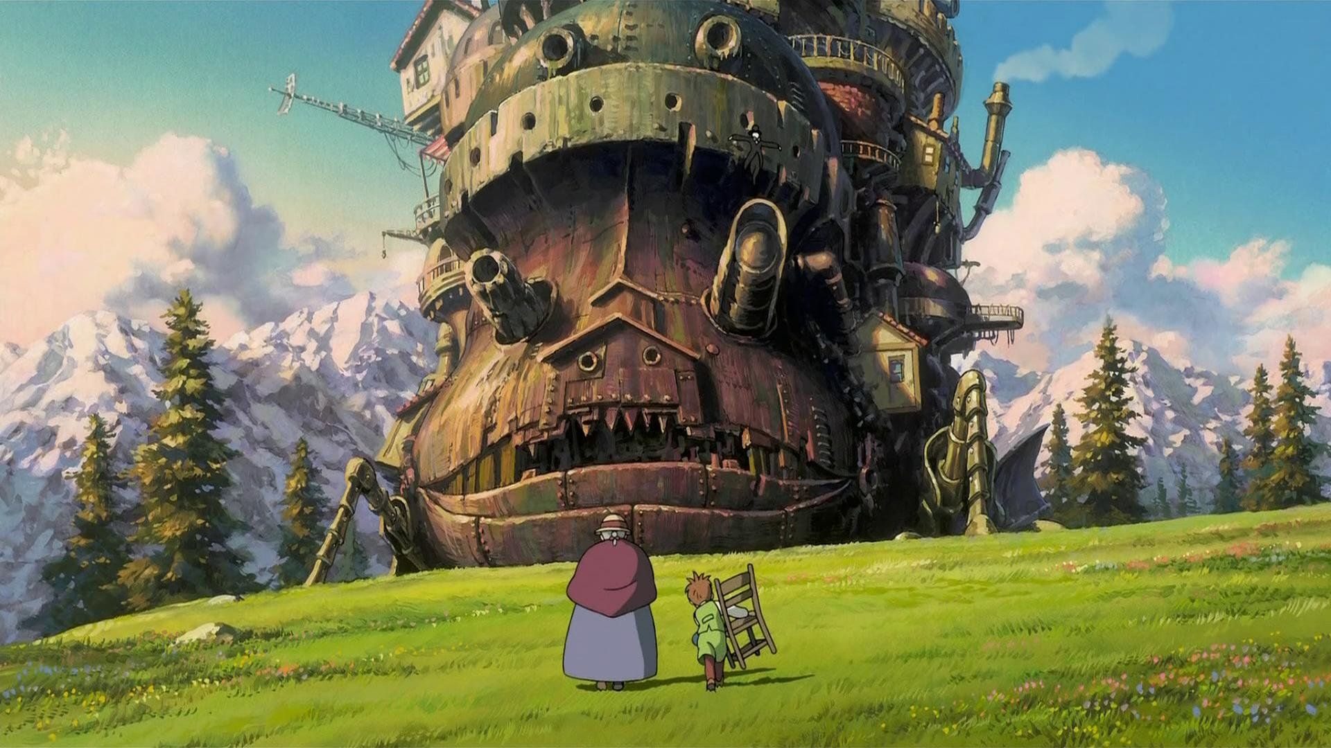 Download full hd Howl's Moving Castle PC background ID:347881 for free
