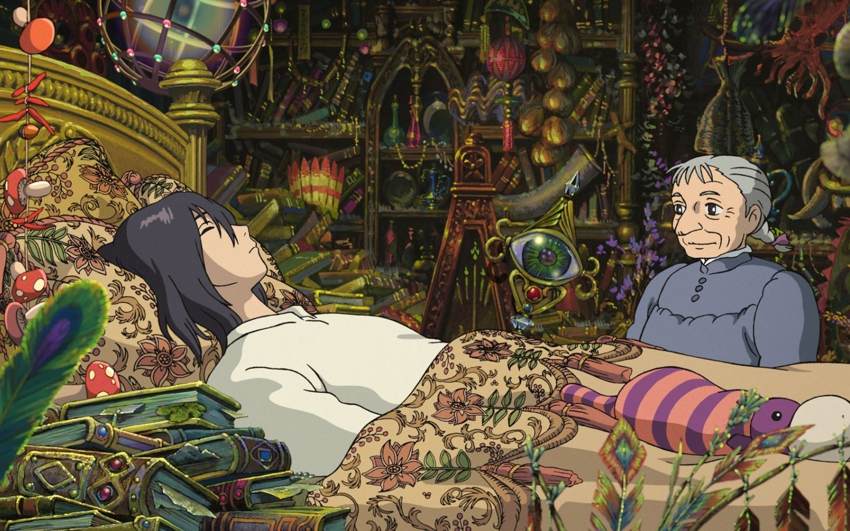 Free Howl's Moving Castle high quality background ID:347892 for hd 1680x1050 computer