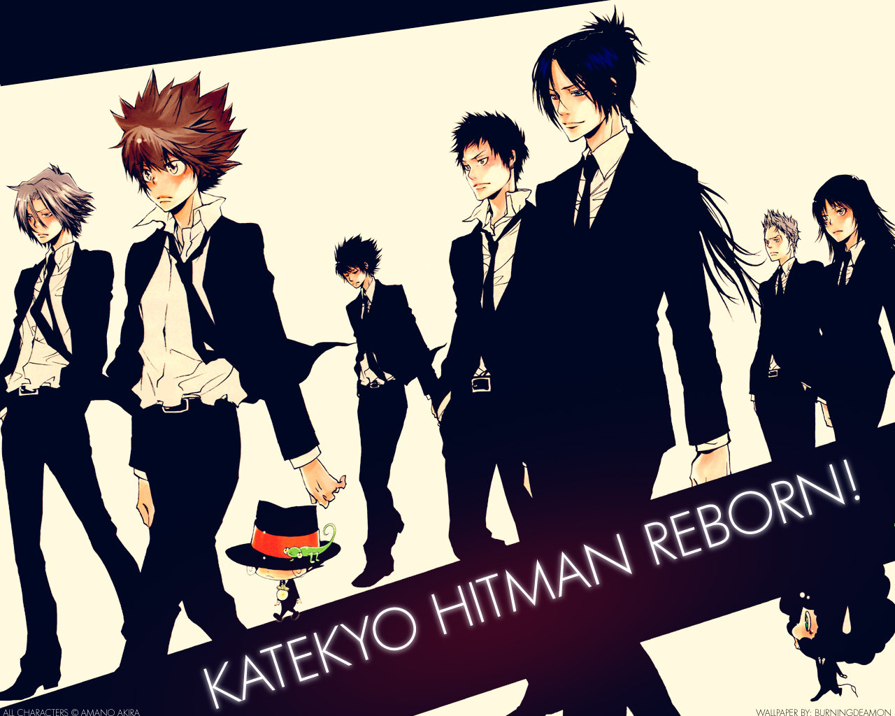 Katekyo Hitman Reborn Wallpapers 1280x1024 Desktop Backgrounds