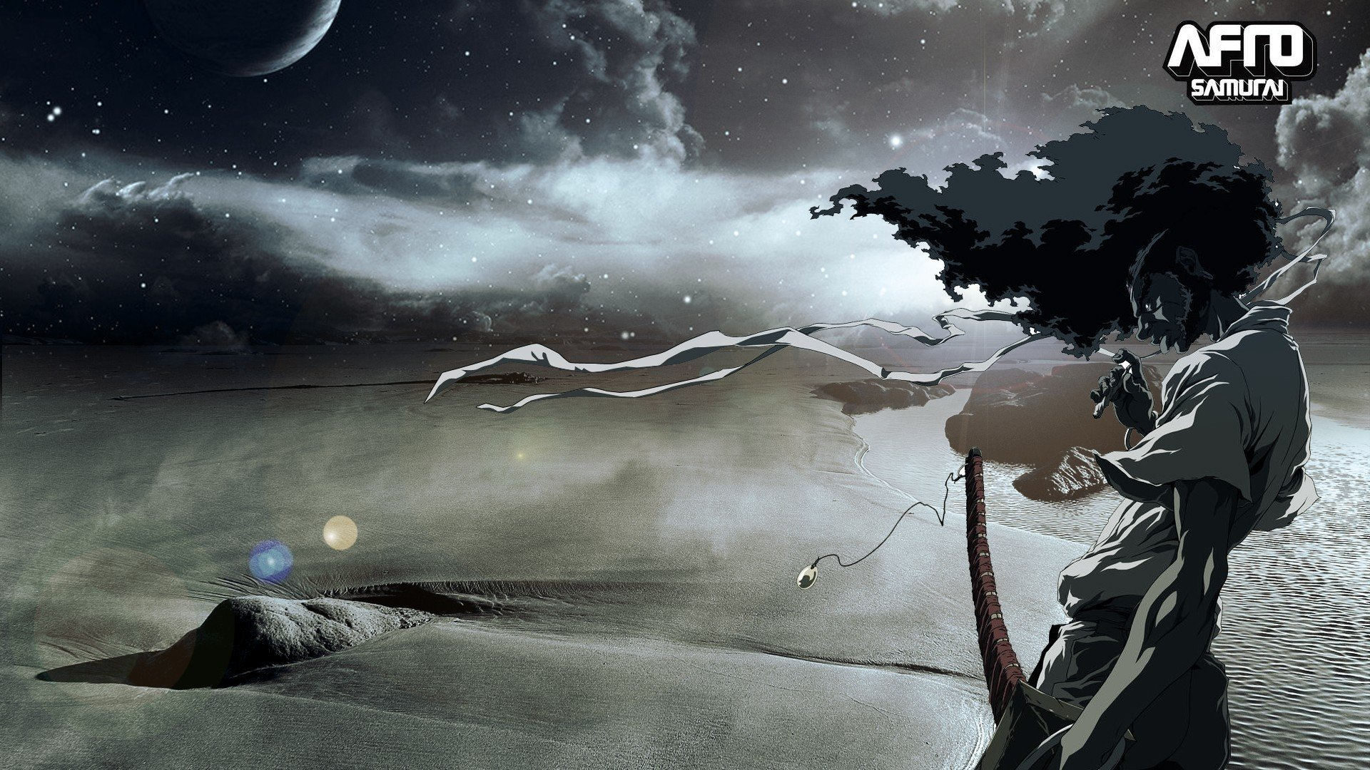 Best Afro Samurai background ID:329126 for High Resolution full hd computer