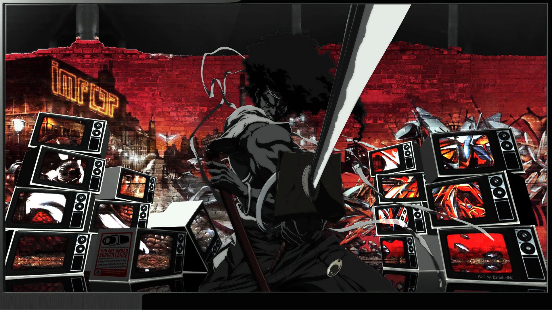 Free Afro Samurai high quality background ID:329153 for full hd PC