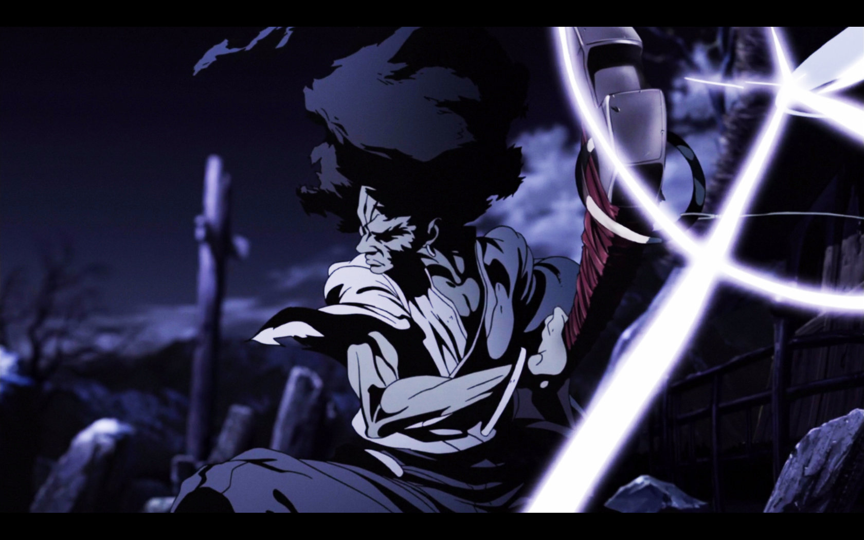 Download hd 1680x1050 Afro Samurai desktop background ID:329143 for free